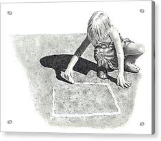 Hopscotch Acrylic Print by Joyce Geleynse