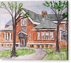 Horace Mann School Amesbury Ma Acrylic Print