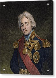 Horatio Nelson (1758-1805) Acrylic Print by Granger
