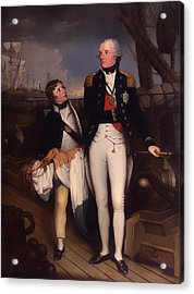Horatio Nelson - Viscount Nelson Acrylic Print by Mountain Dreams
