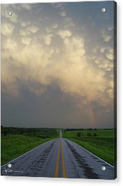 Horizon - Turn Right Acrylic Print