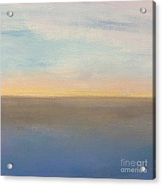 Acrylic Print featuring the painting Horizon Aglow by Kim Nelson