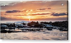 Acrylic Print featuring the photograph Horizon In Paradise by Heather Applegate