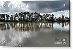 Acrylic Print featuring the photograph Horizon Line by Bill Thomson