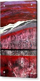 Acrylic Print featuring the painting Horizon X 3 by Carolyn Repka
