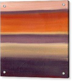 Horizontal Moods Acrylic Print by Emily Freiman