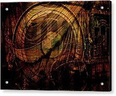 Horloge Astronomique Acrylic Print by Sarah Vernon
