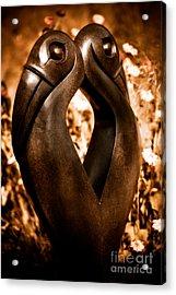 Hornbills Acrylic Print by Venetta Archer