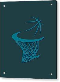 Hornets Basketball Hoop Acrylic Print by Joe Hamilton