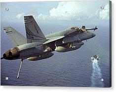 Hornet's Nest Acrylic Print by Aviation Heritage