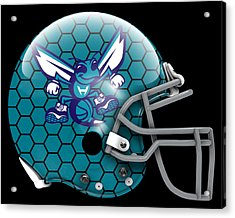 Hornets What If Its Football Acrylic Print