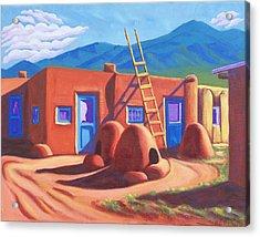 Horno De Pan Taos Acrylic Print