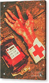 Horror Hospital Scenes Acrylic Print