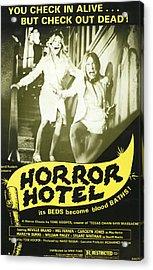 Horror Hotel, Aka City Of The Dead Acrylic Print by Everett
