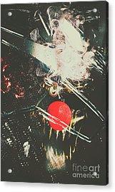 Horror House Of Mirror Acrylic Print