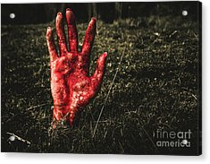 Horror Resurrection Acrylic Print by Jorgo Photography - Wall Art Gallery
