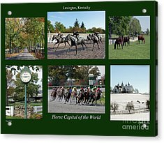 Horse Capital Of The World Acrylic Print