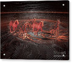 Horse Chestnut Pass Acrylic Print