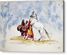 Horse Dance Acrylic Print