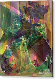 Horse Feathers Acrylic Print