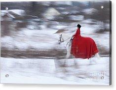 Horse Hunt #8025 Acrylic Print