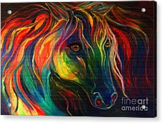 Horse Of Hope Acrylic Print