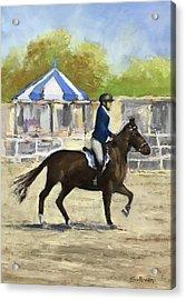Horse Show Acrylic Print