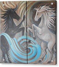 Horse Spirits Acrylic Print
