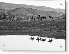 Horseback Landscape Acrylic Print