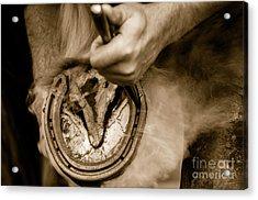 Horsehoe Fitting Acrylic Print
