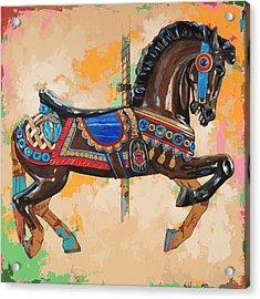 Horses #3 Acrylic Print