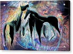 Horses 7 Acrylic Print