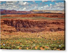 Acrylic Print featuring the photograph Horseshoe Bend Arizona #2 by Jennifer Rondinelli Reilly - Fine Art Photography