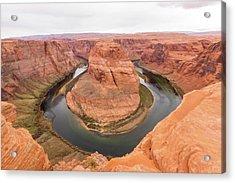 Acrylic Print featuring the photograph Horseshoe Bend, Arizona by Josef Pittner