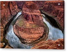 Acrylic Print featuring the photograph Horseshoe Bend by Claudia Abbott