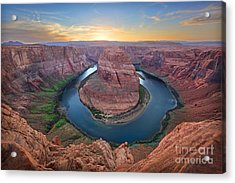Horseshoe Bend Colorado River Arizona Acrylic Print