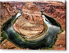 Acrylic Print featuring the photograph Horseshoe Bend Colorado River by Gigi Ebert