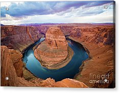 Acrylic Print featuring the photograph Horseshoe Bend by Kate Avery