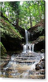 Horseshoe Falls #6736 Acrylic Print by Mark J Seefeldt