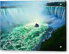 Horseshoe Falls Niagara Acrylic Print by Lawrence Christopher