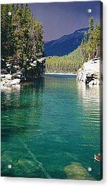 Horseshoe Lake Acrylic Print by Shirley Sirois
