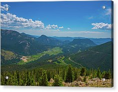 Horseshoe Park From Rainbow Curve 1 Acrylic Print