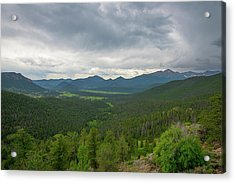 Horseshoe Park From Rainbow Curve 2 Acrylic Print