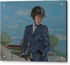 Horseshow Day Acrylic Print
