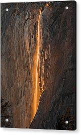 Horsetail Fall 1 Yosemite Acrylic Print