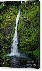Horsetail Falls Acrylic Print by Jon Burch Photography