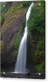Horsetail Falls Acrylic Print by Todd Kreuter
