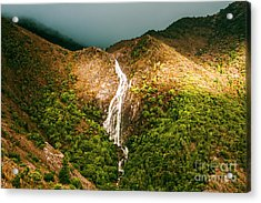 Horsetail Waterfalls Tasmania  Acrylic Print