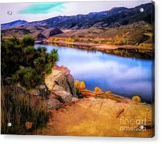 Horsetooth Lake Overlook Acrylic Print