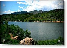 Horsetooth Reservoir Summer Acrylic Print